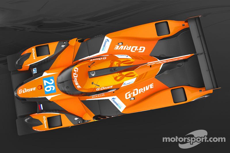 Der G-Drive Ligier JS P2