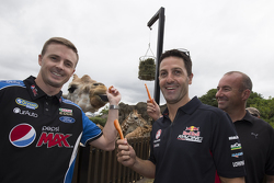 Mark Winterbottom, FPR Ford, Jamie Whincup, Red Bull Holden, Marcos Ambrose, da equipe Penske Ford