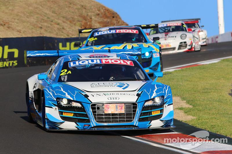 #2 Fitzgerald Racing, Audi R8 LMS ultra: Peter Fitzgerald, Michael Almond, Matt Halliday