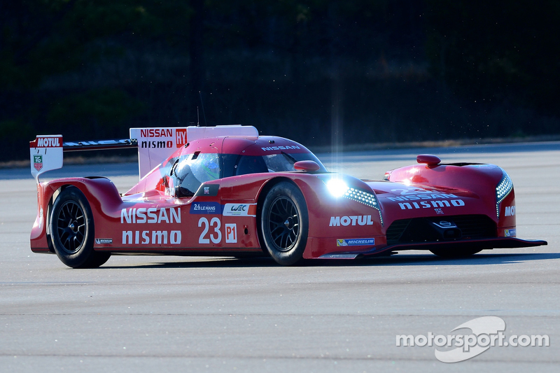 Olivier Pla tests the Nissan GT-R LM NISMO
