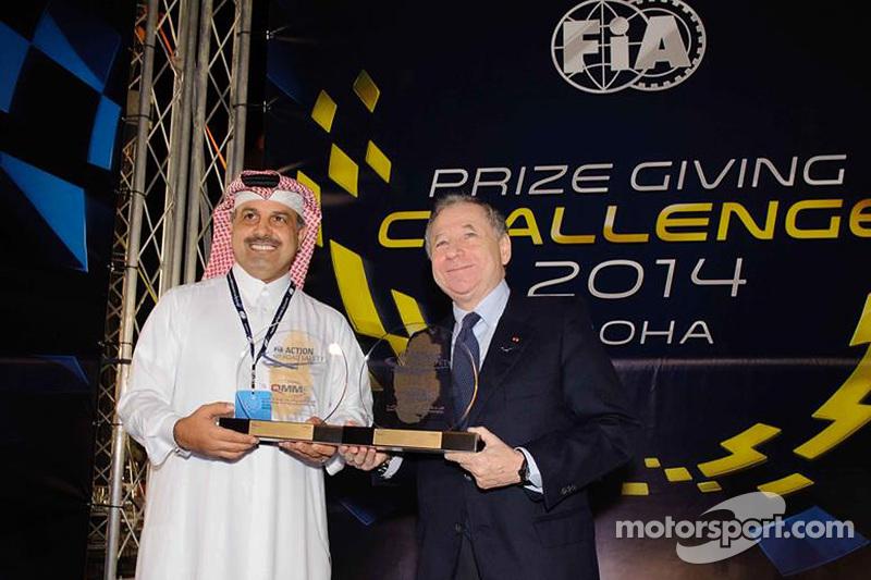 Nasser bin Khalifa al-Attiyah und Jean Todt