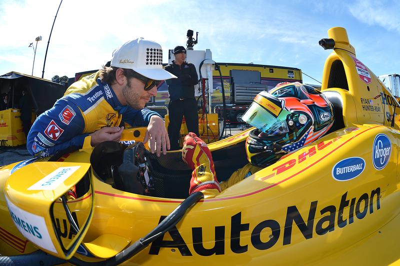 Marco Andretti und Ryan Hunter-Reay