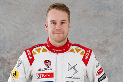 Mads Ostberg, Citroën Total Abu Dhabi World Rally Team