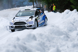 Henning Solberg та Ilka Minor, Ford Fiesta WRC