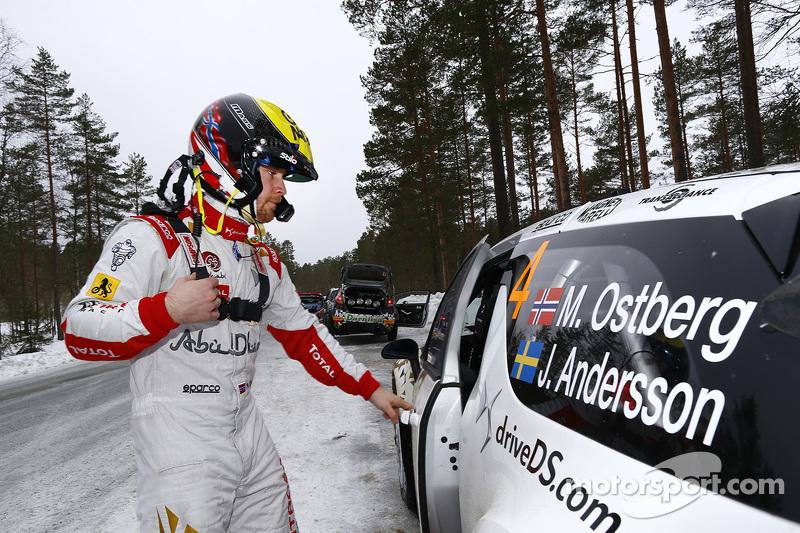 Медс Остберг, Citroën DS3 WRC, Citroën Total Abu Dhabi World Rally Team