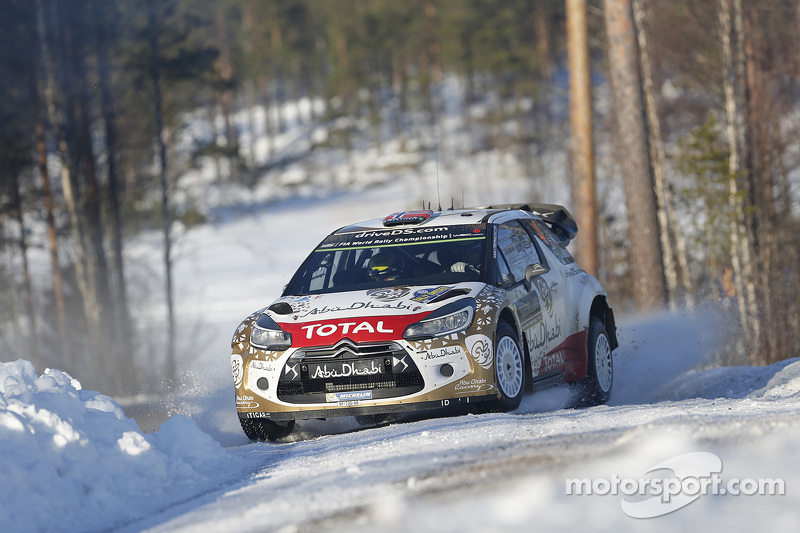 Медс Остберг та Йонас Ендерсон, Citroen DS3 WRC, Citroen Total Abu Dhabi World Rally Team