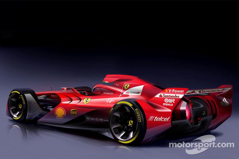 Концепт Ferrari Ф1