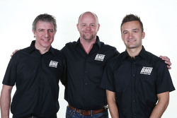 Jason Plato, Warren Scott, y Colin Turkington