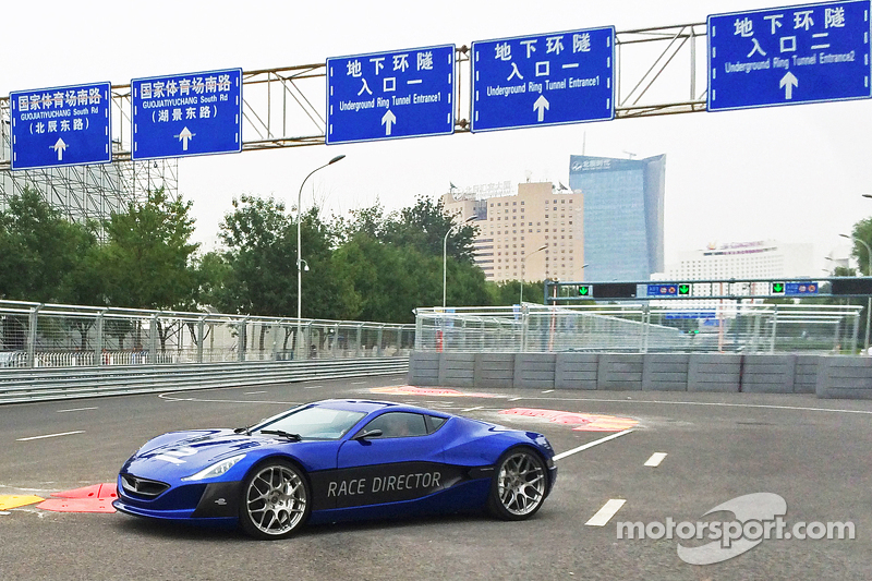 all-electric Rimac Automobili hypercar