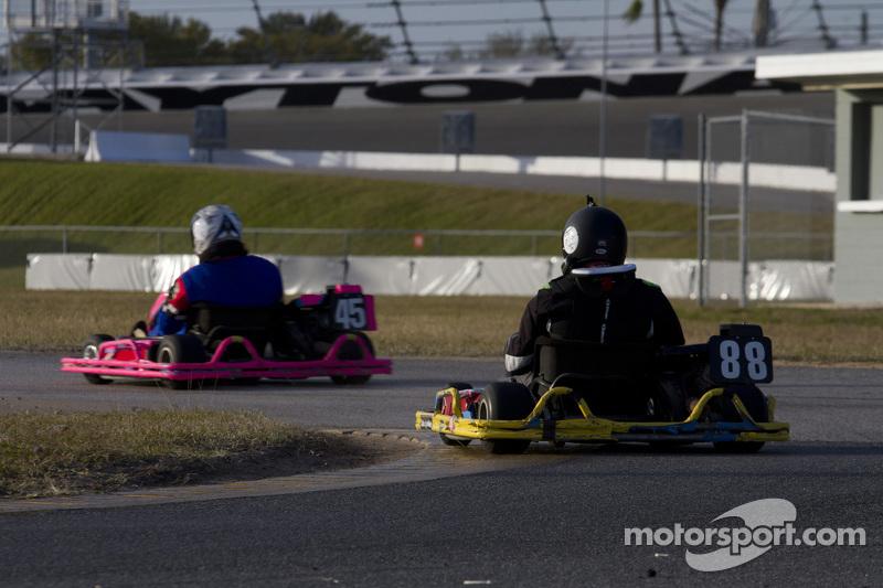 #88 Wheel to Wheel Karting: Bill Judy, Bruce White, Kevin Jordan, Jack Vintartas, Ryan Glisсин