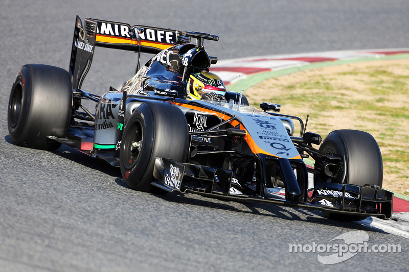 Pascal Wehrlein, Sahara Force India F1 VJM07