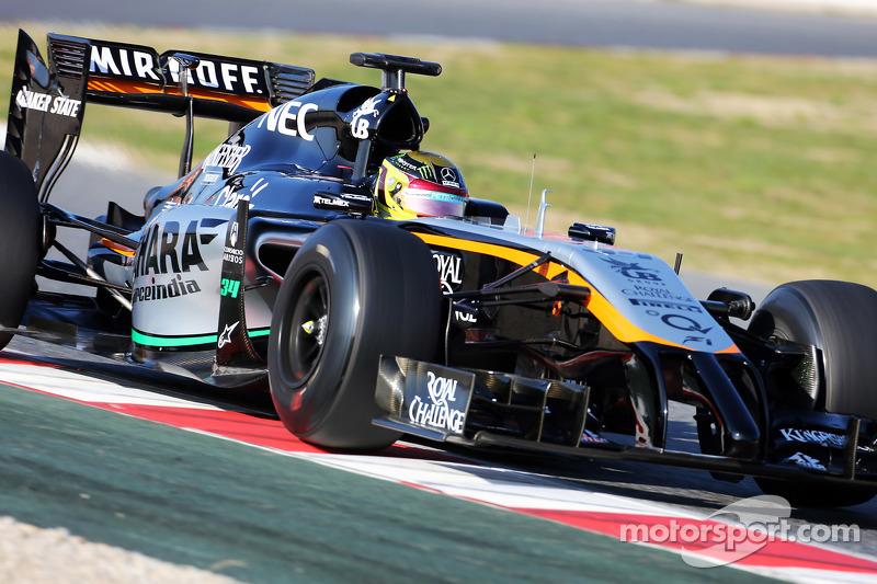 Pascal Wehrlein, Sahara Force India F1 VJM07