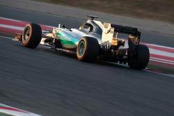 Pascal Wehrlein, Mercedes AMG F1 W06 piloto de reseva