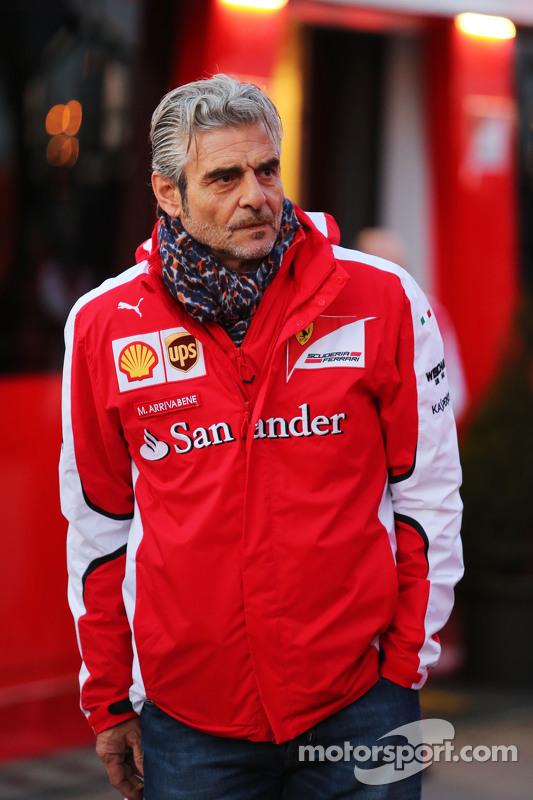 Maurizio Arrivabene, chefe da equipe Ferrari