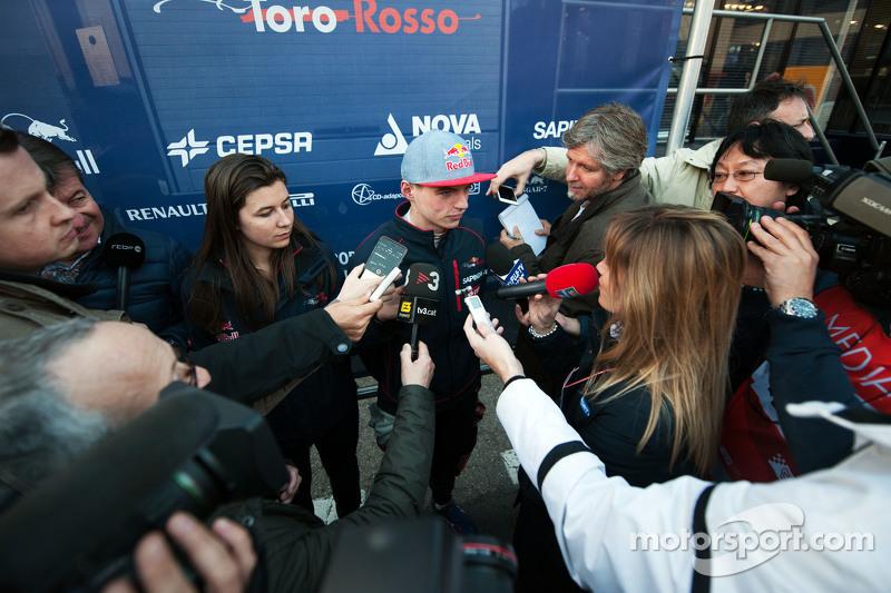 Макс Ферстаппен, Scuderia Toro Rosso з медіа