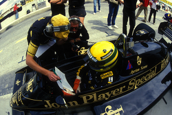 Ayrton Senna, Lotus with Gérard Ducarouge