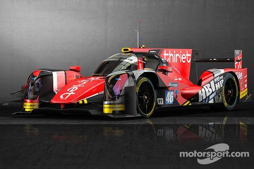 TDS Racing ORECA 05 görünüm tanıtımı