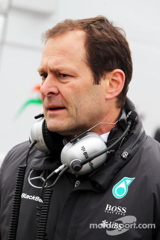 Aldo Costa, Mercedes AMG F1 Direttore Tecnico