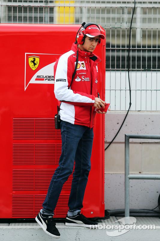Esteban Gutierrez, Piloto de Testes da Ferrari