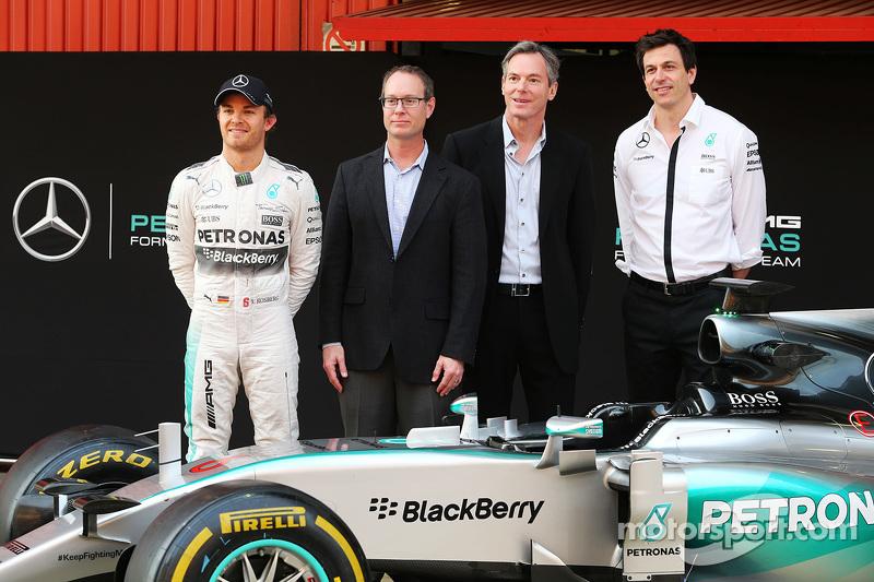 Qualcomm wird als offizieller Technologiepartner von Mercedes AMG F1 vorgestellt: Mercedes-Sportchef