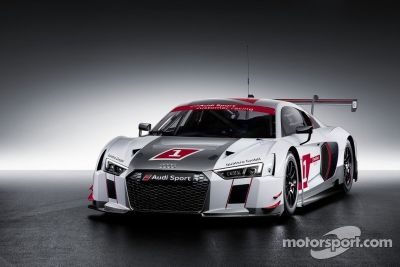 Презентация новой Audi R8 LMS