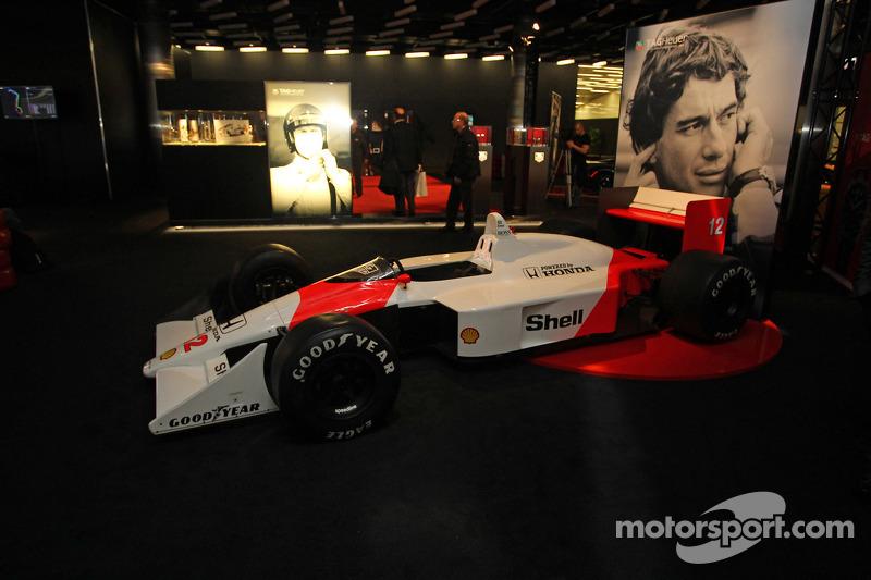 McLaren standı