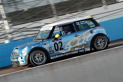 #02 Nuzzo Motorsports Mini Cooper S: Mark Powell, Bob Miller