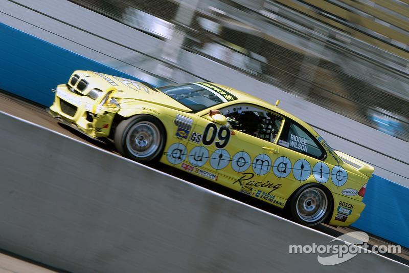 #09 Automatic Racing BMW M3: Kris Wilson, David Riddle