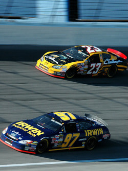 Kurt Busch and Johnny Benson