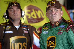 Dale Jarrett with crew chief Todd Parrott