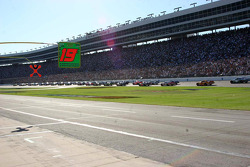 A huge crowd at Texas Motor Speedway