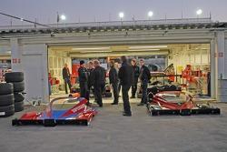 Howard-Boss Motorsports garage