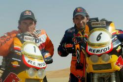 Marc Coma and Jordi Duran
