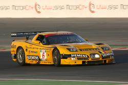 #6 GLPK Racing Corvette C5-R: Bert Longin, Anthony Kumpen, Mike Hezemans