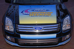Race Fest in Fort Lauderdale: front end detail of the 2006 Ford Fusion pace car