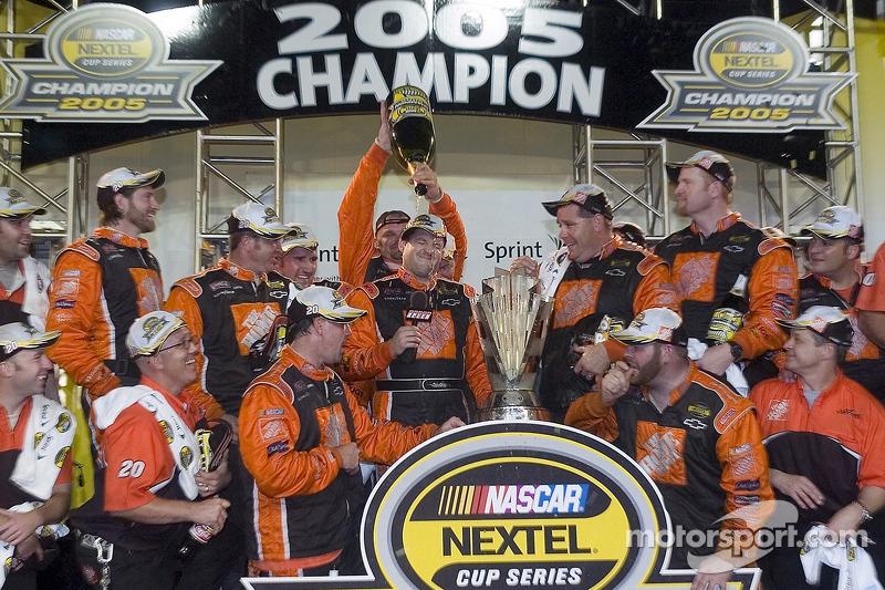 November 2005: Der zweite NASCAR-Titel