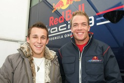 Christian Klien and Robert Doornbos