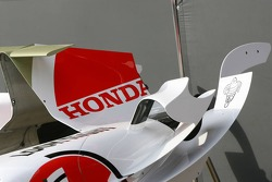 BAR Honda engine cover