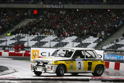 Demonstation of Jean Ragnotti in the Renault 5 Maxi Turbo