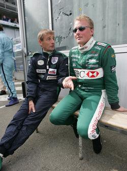 Stuart Graham and Johnny Herbert