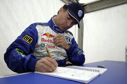 Volkswagen Motorsport: Michel Périn, co-driver for Bruno Saby