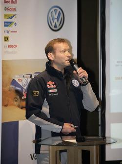 Volkswagen Motorsport departure in Wolfsburg: Kris Nissen