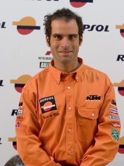 Team Repsol presentation in Lisbon: Carlo de Gavardo