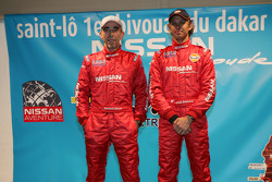 Team Nissan Dessoude presentation: Bernard Irissou and Paul Belmondo