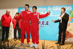 Team Nissan Dessoude presentation: Fabian Lurquin and Xu Lang