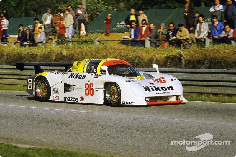 #86 Mazdaspeed Mazda 737C: David Kennedy, Phillippe Martin, Jean-Michel Martin