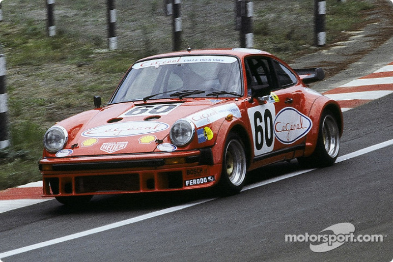 #60 Meccarillos Cégécal Racing Porsche 934: Simon de Latour, Gérard Bleynie, Pascal Ennequin