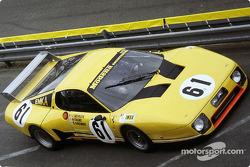 #61 Beurlys Ferrari 512 B: Nick Faure, Steve O'Rourke, Bernard de Dryver, Jean Beurlys