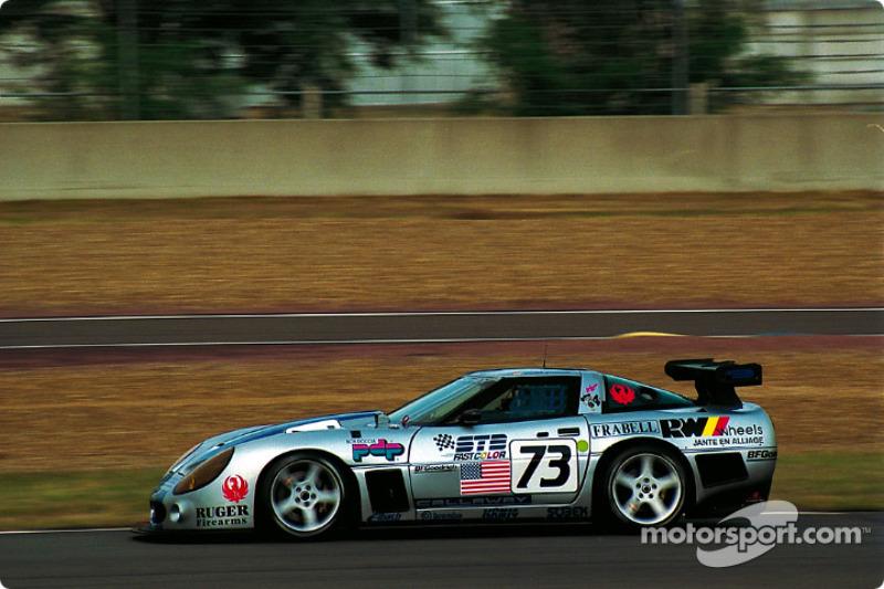 #73 Callaway Corvette 001:  Enrico Bertaggia, Johnny Unser, Frank Jelinski
