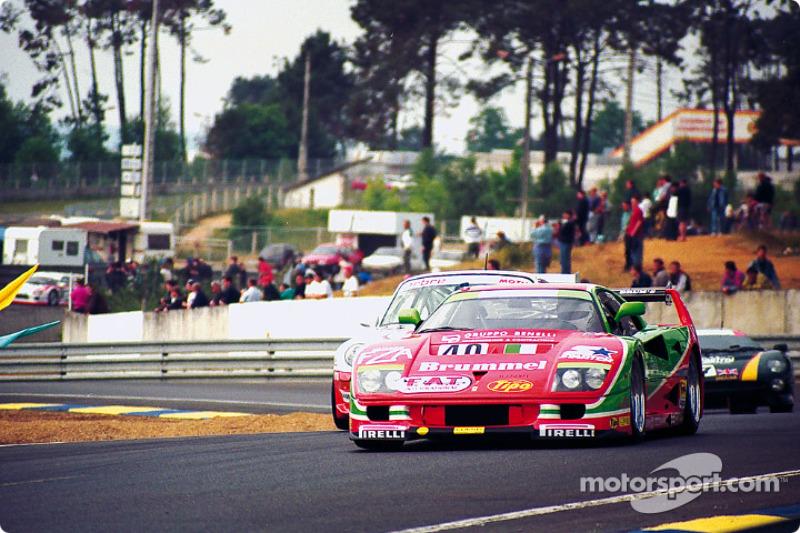 40 Ferrari F40 Gte Anders Olofsson Luciano Della Noce Tetsuya